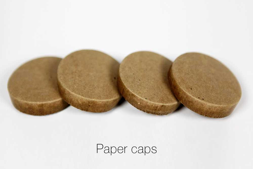 Plastic End Plugs Paper Caps Metal Plugs End Caps