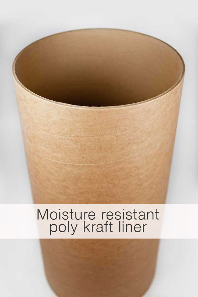 Round concrete form tubes sonotubes cement